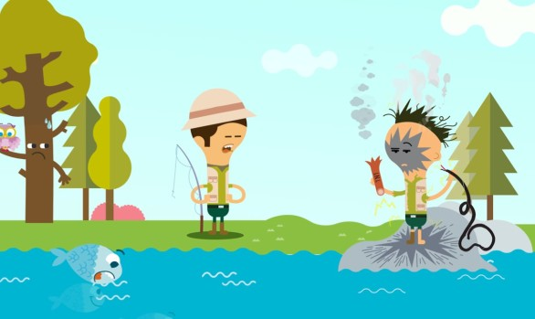 MOTION GRAPHIC FISHING