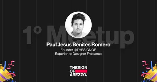 #1 THESIGNOF Arezzo, Paul Benites Romero